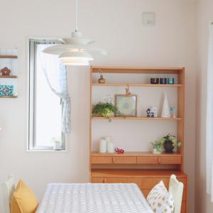 ⋆⋆【ダイニング】北欧ヴィンテージ家具が主役のインテリア完成!& スキで溢れてる♡⋆⋆
