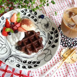 ⋆⋆【おうちカフェ】業務スーパーが優秀過ぎて幸せ♡北欧食器の底力も見たぞ!⋆⋆