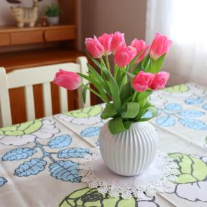 ⋆⋆【春待ちダイニング】ヴィンテージ家具の棚上を模様替え⋆⋆