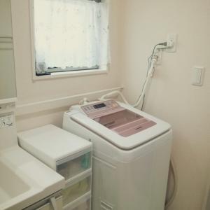 何年も変わらない洗面所と洗濯機をまるごとお掃除