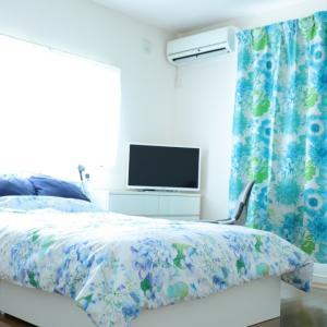 Francfranc×ZARA HOMEのセール購入品で夏らしい寝室にチェンジ
