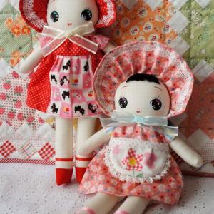 文化人形はなちゃん♪♪