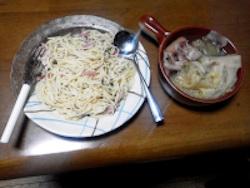 おやじ目線で美味しく感じたスパゲッティ&スープ