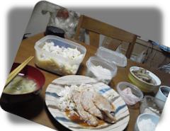 晩飯にペンネのサラダ!?