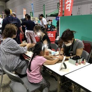 横浜パシフィコ総合商社秋の展示会ネイルイベント