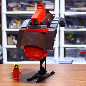 LEGOでリック・ディアス制作①