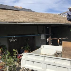 天気も安定してきたので屋根のお仕事