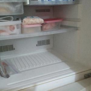冷凍庫&ドーナツ