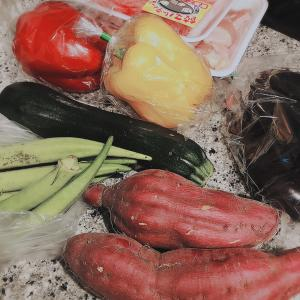 野菜とお肉をどんどん冷凍保存してく!