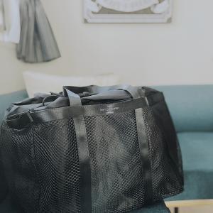 スーパー買い出し用の大容量エコバッグ