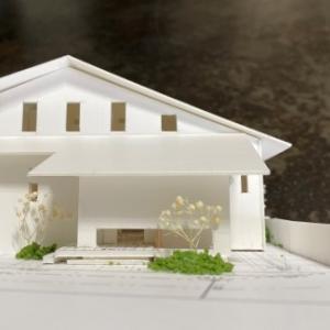 ~光と風と緑を楽しむ~『機能的な生活動線を楽しむ家 』の模型をホームページに記載しました