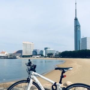 サイクリング日和🚴〜です。in…福岡タワー