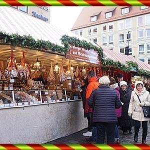 2018年12月ドイツクリスマスマーケット10 ニュルンベルグ大聖堂