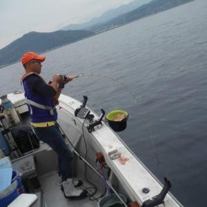 コマセマダイ釣り攻略法  −電動リールでのやり取り編−