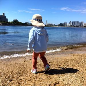 海とメダカと少年