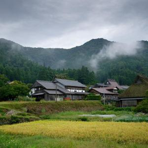 雨上がり、秋の花咲く里山@美山茅葺きの里 其の二