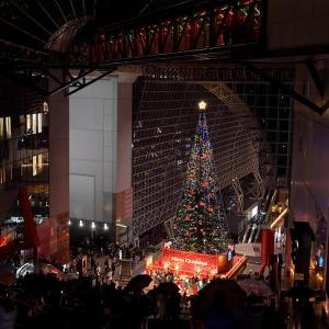 クリスマスイルミネーション@京都駅ビル