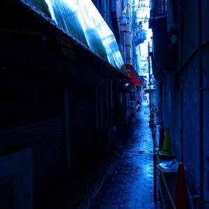雨の鶴橋寸景 其の一
