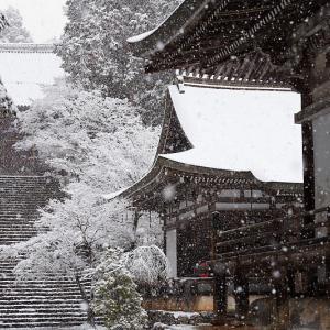 京の雪景色・神護寺 其の三