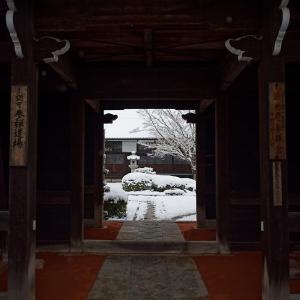 京の雪景色・源光庵