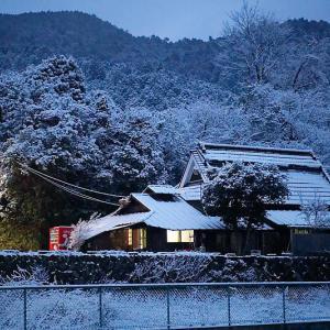 京の雪景色・開門前の大原散策 其の一