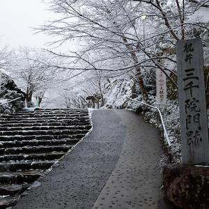 京の雪景色・開門前の大原散策 其の二