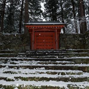 京の雪景色・開門前の大原散策 其の三