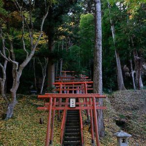 2020京都の紅葉・京丹波 導観稲荷神社