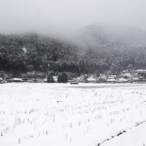 雪景色@美山茅葺きの里 其の一