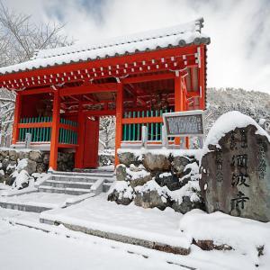 雪景色@滋賀県今津町