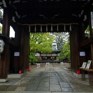 咲き急ぐ花達 イチハツ@上御霊神社