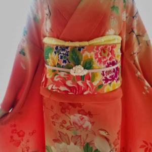 華やかな花づくしの袋帯