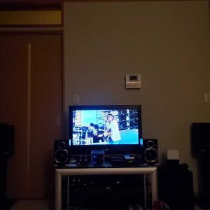 スピーカーを変更しました。DVD鑑賞~。