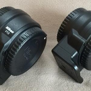 Nikonのマウントコンバーター FTZとFT1