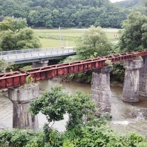 第三築別川橋梁の空撮動画