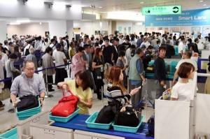 ANA伊丹空港での混乱