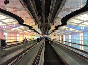 3年前のシカゴオヘア空港