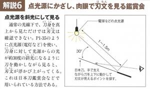 週刊日本刀への疑問 特殊撮影とは何をやっているのか?