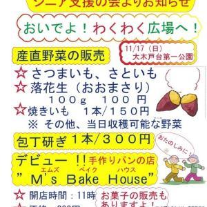 11月17日(日) イベントのお誘い
