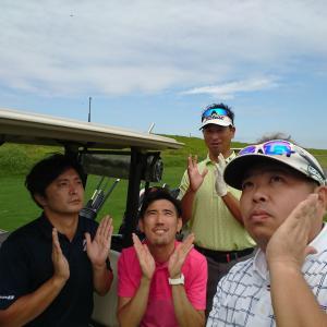 KOSHIGAYAゴルフクラブで超早朝プレー