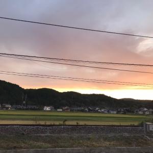 シルバーウィークはきれいな夕暮れ ♪ 岡山