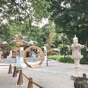 茅の輪くぐり ♪ 兵庫宝塚 伊和志津神社
