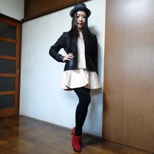 ロックファッションと、ユニセフマンスリーサポートプログラム☆