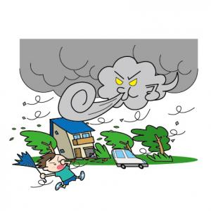 台風9号の恐怖の次は、台風10号…( ;∀;)