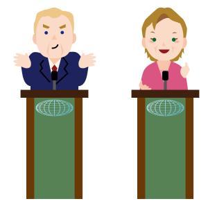 大統領選って…けなし合い?もっと違うTOPの戦い方を見たいな…