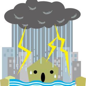 今回の大雨被害が最小限で済みますように