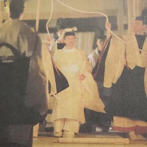 大嘗祭の儀厳かに・・(^_-)-☆