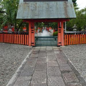 【京都散歩】車折神社の重陽祭。菊酒はありませんでした