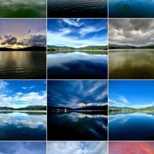 【散歩写真】 広沢池は毎日違った風景を見せてくれます