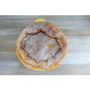 マンゴーのらスフレチーズケーキ
